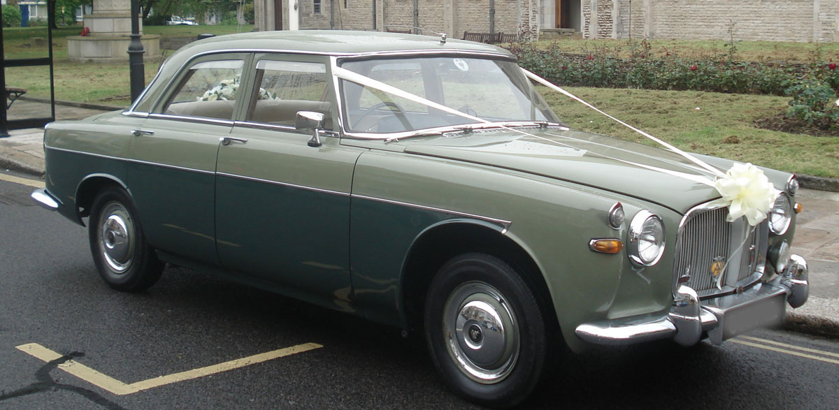 Rover P5 Saloon Wedding Car