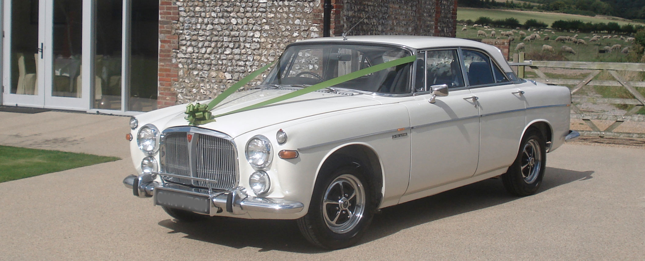 Rover P5B Coupe Wedding Car